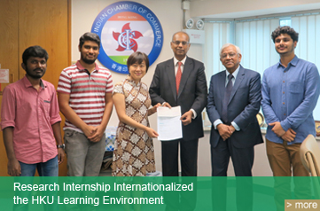 Research Internship Internationalized the HKU Learning Environment