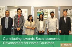 Contributing towards Socio-economic Development for Home Countries